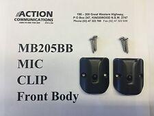 2x MB205 Mic Clip GME electrophone TX3100 TX3500 s TX3510 s TX3520 TX4500 s