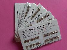 20 Packs Dental Orthodontics Monoblock Brackets Standard Roth Slot.022 Hooks 345