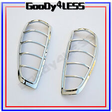 For 04-12 Chevy Colorado Chrome  Taillight Covers Lid Trim Bezels Trims