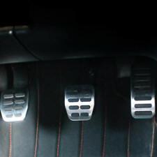 Silver-Car-Pedal-Cover-Set-MT-for-VW-Beetle-Bora-Golf-Polo-Fox-SKODA-Fabia-AP b