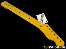 NEW Fender Lic Allparts Telecaster NECK Tele Maple Vintage Tinted Nitro TMNF