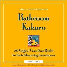 Little Book of Bathroom Kakuro (The Little Book of Bathroom) - VeryGood - Sticke