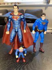 DC Multiverse Superman: Batman vs Superman Exclusive 6? Loose Figure Lot Of 3