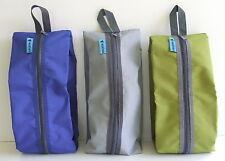 Shoe bag multi purpose travel waterproof laundry storage pouch zipper organiser