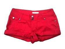 Red Forever 21 Shorts Hot Pants Size 25 XS