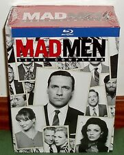MAD MEN-SERIE COMPLETA-1-7 TEMPORADAS COMPLETAS-21 BLU-RAY-PRECINTADO-SEALED