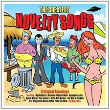 The Greatest Novelty Songs 3 CD Album VG Cond Day3cd077