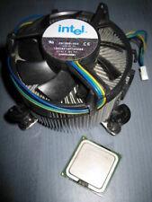Intel 3.0 GHz 2MB Pentium P4 630 Skt T LGA775 SL7Z9 fan copper heatsink alu fins
