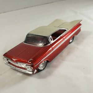 Hot Wheels Red 59 Chevy Impala Custom Classics 1:50 Scale Rare Collectible