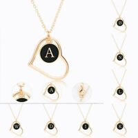Necklace Alphabet Fashion Letter Initial A - Z Pendant GIFT Personalised HEART