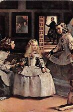 BF39115 museo del prado las meninas   painting art postcard