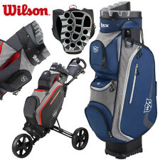 Wilson I Lock III Golf Trolley Cart Bag Navy Blue/Grey - NEW! 2020 Model