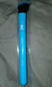 MODA Brush Neon Blue Angle Contour Blush Brush Synthetic NEW