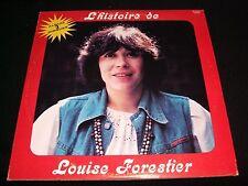 "LOUISE FORESTIER<>L'HISTOIRE DE..<>3X12"" Lp Vinyl~Canada Pressing~GAMMA G3 602"