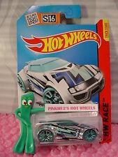 Case K 2015 i Hot Wheels HIGH VOLTAGE #156∞Chrome; TRAP5 green∞Super Chromes