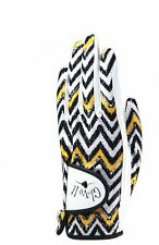 New Ladies Glove It Zig Zag Golf Glove. Size Small Or Large
