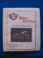 Royal Enfield Bullet Classic Electra NEW UCE Technical Training Notes Manual