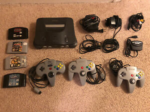 Nintendo 64 n64 lot - console system bundle W/ Games, Controllers, More!