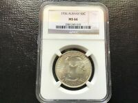 1936 Albany Commemorative Half Dollar 50c NGC MS66 Commemorative 010