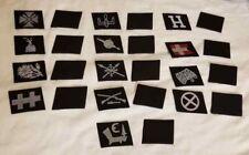 WW2 WWII German Elite Bevo collar tabs Patch Uniform insignia lot  x 13