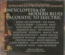 2 CD DELUXE EDITION ENCYCLOPEDIA OF MODERN BLUES ACOUSTIC TO ELECTRIC RARE