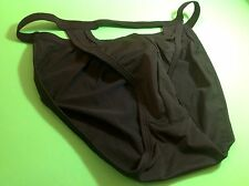 Men Underwear Panties,Bikinis Size Large Black Silk Appearance Elastic Myanmar