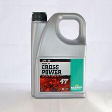 Motorex Cross Power 4T 10W50 Motorenöl, Öl 10 W50 4 Liter Kanister Flasche