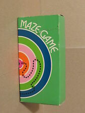 Maze Game Vintage Avon Empty Shampoo bottle with game no ball in box