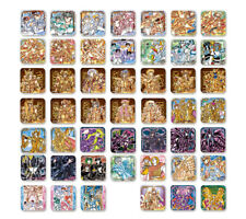 Jump Shop Saint Seiya Art Coaster BOX set of 48 Japanese Anime from Japan