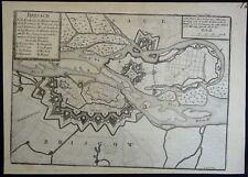 Nicolas de Fer gravé par Loisel Plan des Fortifications Breisach am Rhein 1695