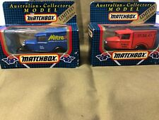 `Matchbox Collectors Limited Edition Set of 2 Ford Model A Trucks
