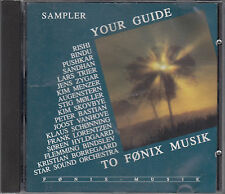 Fonix Sampler Your Guide To Fonix Music CD European Electronic Ambient Folk Jazz