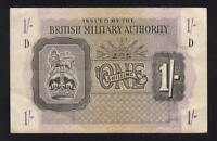 Great Britain - Military Authority P-M2. (1943) One Shilling..  gEF - Crisp