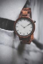 Laimer Holz Armbanduhr Damen Uhr Marmo Rose 0070 Rosenholz Marmor Holzarmband