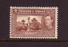 TRINIDAD TOBAGO....  1938   4c chocalate mint....memorial park