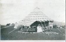 CPA MAROC FEZ VERITABLE CARTE PHOTO FEZ REVUE DU 22 FEVRIER 1915 LE KHALIFA PERE