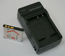 Battery + Charger For Sony NP-BN1 DSC-W610 DSC-W570 DSC-W560 DSC-W530 DSC-W510