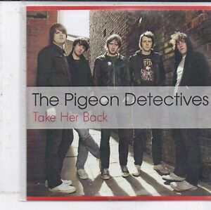 The Pigeon Detectives-Take Her Back promo cd single