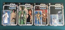"Star Wars HASBRO Vintage Black Series 6"" Complete 12 Back Set 40th Anniversary"