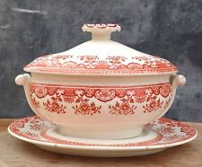 Wedgwood Chusan red sauce tureen c1913?