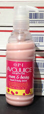 OPI AVOJUICE CRAN & BERRY HAND & BONDY LOTION 6.6 oz, NEW, FREE SHIPPING