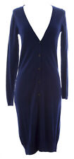BODEN Women's Navy Longline Maxi Cardigan Sweater Dress WK829 US Sz 2 $138 NWOT