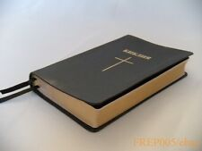 New RUSSIAN BIBLE Black Softcover with Cross