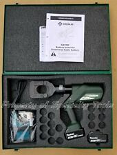 Greenlee Gator ESG45L11 Battery Hydraulic ACSR cable cutter ground rod cutting