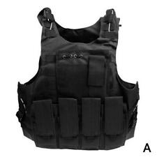 Airsoft Military Tactical Vest Molle Combat Assault Carri Plate H1H2 new D7U9