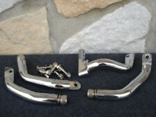 "FOR HARLEY 2"" EXTENDED CHROME DRIVER FLOORBOARD MOUNTING BRACKET"