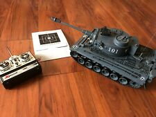 German Tiger radio control Tank 1:20 Scale Firing Gun Only Used Once