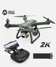 Holy Stone HS700D Brushless Drone WIFI 2K Camera GPS RC Quadcopter + extra parts