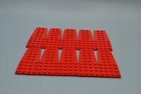NOUVEAU Lego keilplatte 8 x 3 droite-noir 50304 10 X