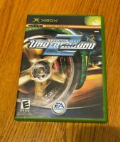Need for Speed: Underground 2 (Microsoft Xbox 360, 2004) COMPLETE RACING EA GAME